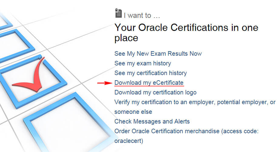 certview - download eCertificate