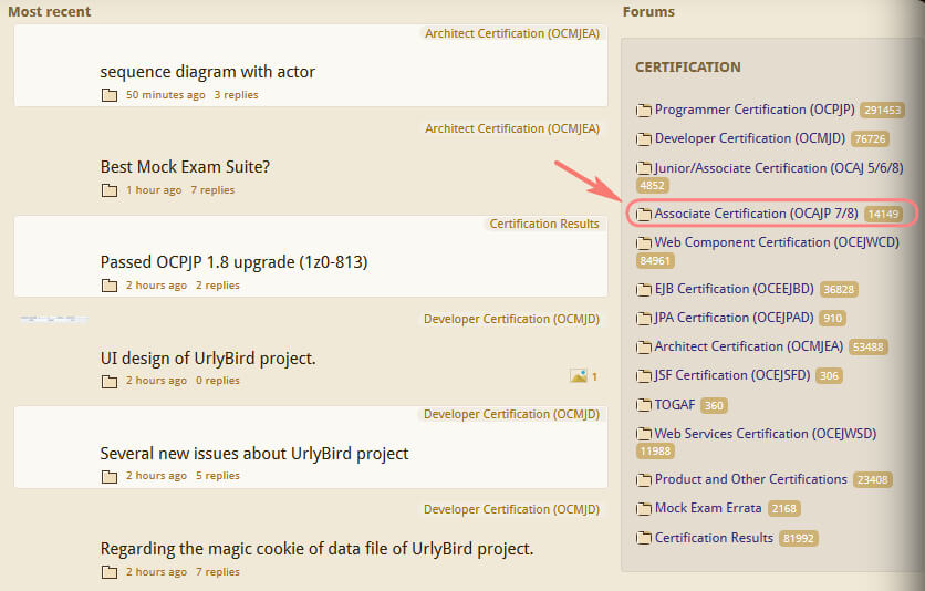 coderanch ocajp forum