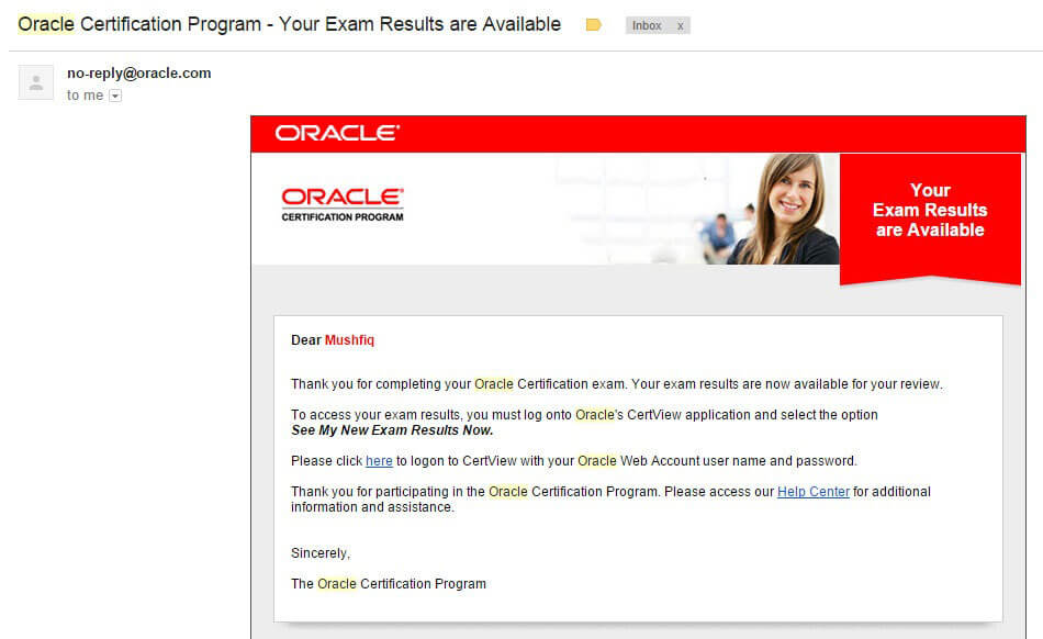 email-notification-oracle-certification-program-your-exam-results-are-available