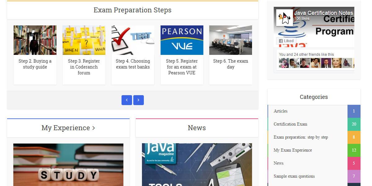 Java OCA certification exam | Java Certification Notes